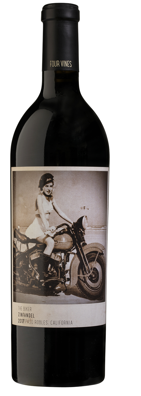 Four Vines The Biker PR Zinfandel 2017 (Bottle)
