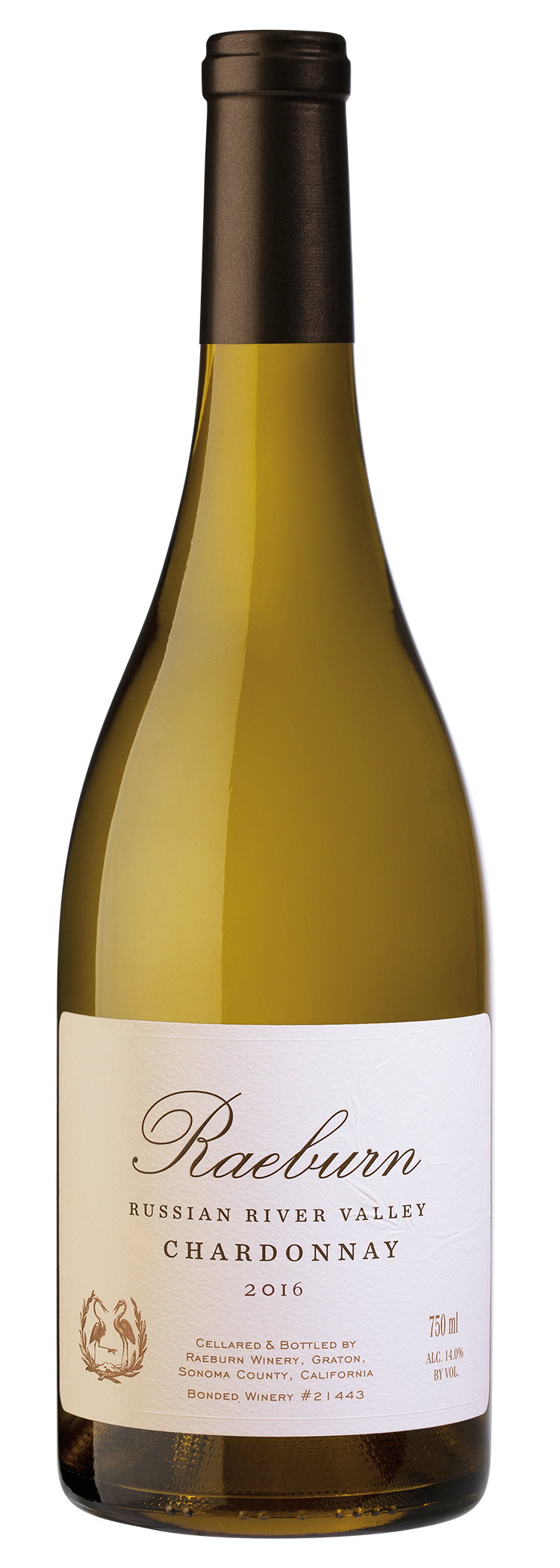 Raeburn Chardonnay 2016 (Bottle)