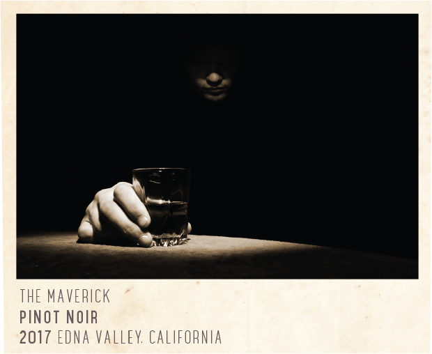 Four Vines The Maverick EV Pinot Noir 2017 (Label)